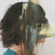 Charlotte Caron - Animali dipinti sopra ritratti fotografici