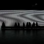 Carsten Nicolai - Unidisplay - Un'installazione audiovisiva lunga 40 metri