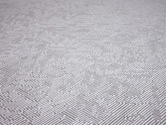 Motoi Yamamoto - Salt Installation - Labirinti e sculture realizzate col sale