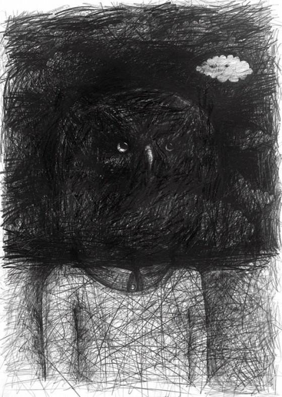 Stefan Zsaitsits - Headsongs - Illustrazioni a matita di sogni e incubi