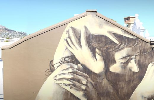 Le opere della street artist sudafricana Faith47