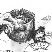 Bryan Lewis Saunders - Drugs Self-Portraits