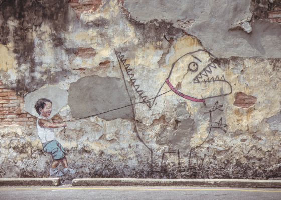 Ernest Zacharevic - Interactive Street Art