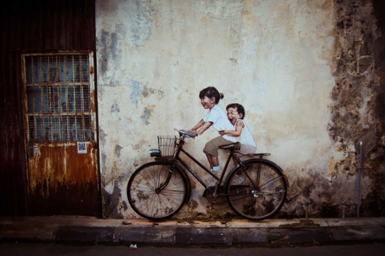 Ernest Zacharevic - Interactive Street Art