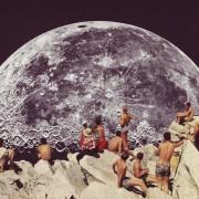 Beth Hoeckel - Point of view - Collages apocalittici e nostalgici realizzati con fotografie vintage