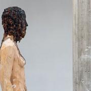 Aron Demetz - Sculture di legno e metallo e trasformazione della materia