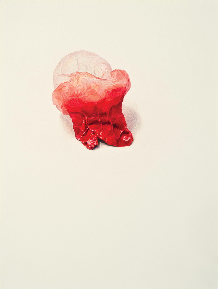 Julia Randall - Blown - Illustrazioni di gomme da masticare viscerali
