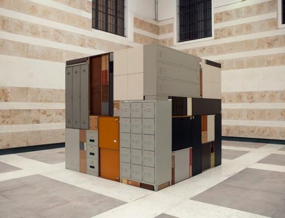 Michael Johansson - Oggetti comuni assemblati geometricamente