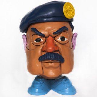 Mr. Dictator head series - I dittatori diventano giocattoli - Saddam Hussain | Collater.al