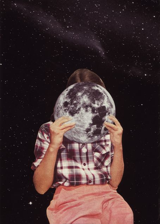 Beth Hoeckel - Point of view - Collages apocalittici e nostalgici realizzati con fotografie vintage