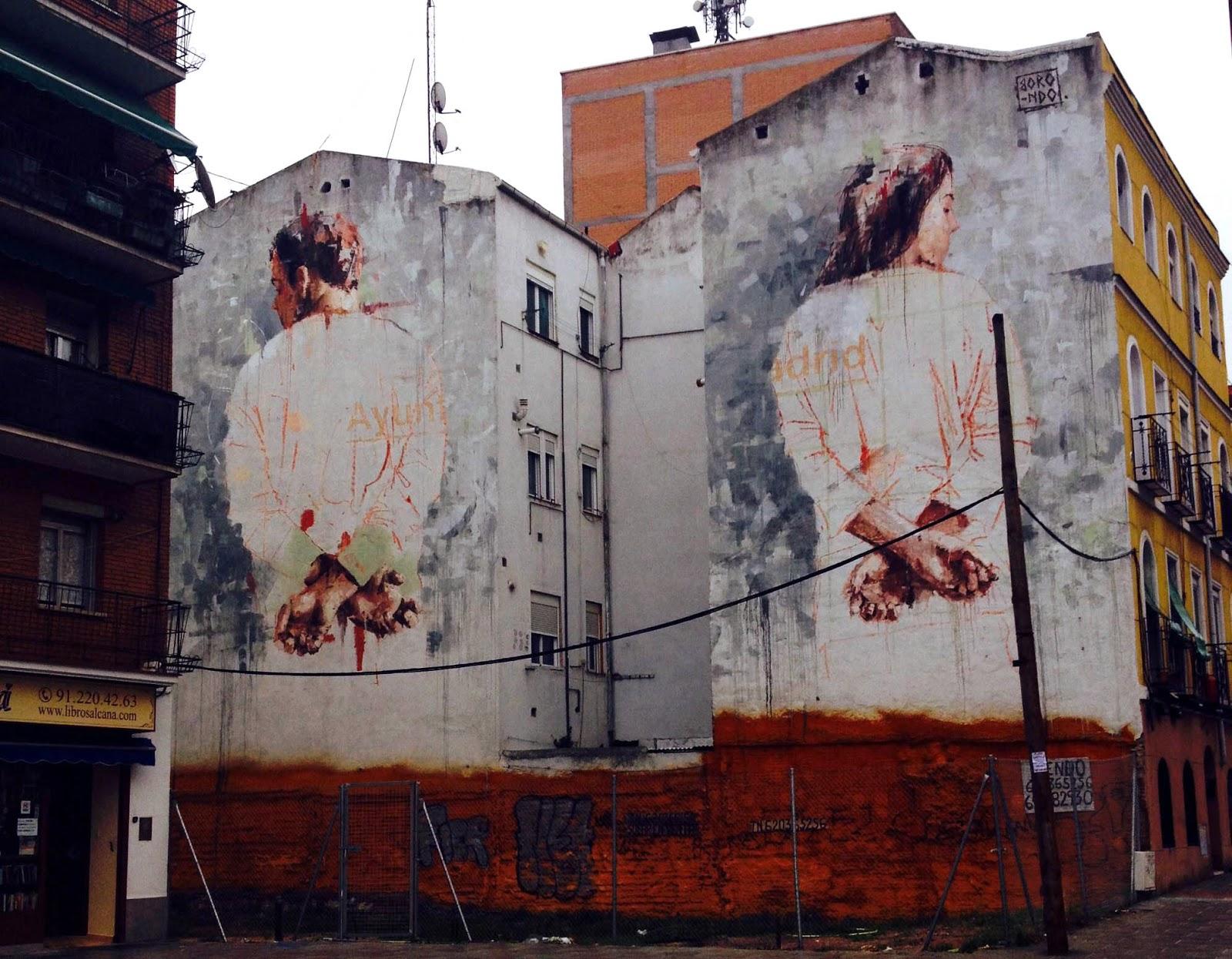 Borondo - Pittore e street artist spagnolo il cui stile mescola pittura e incisione