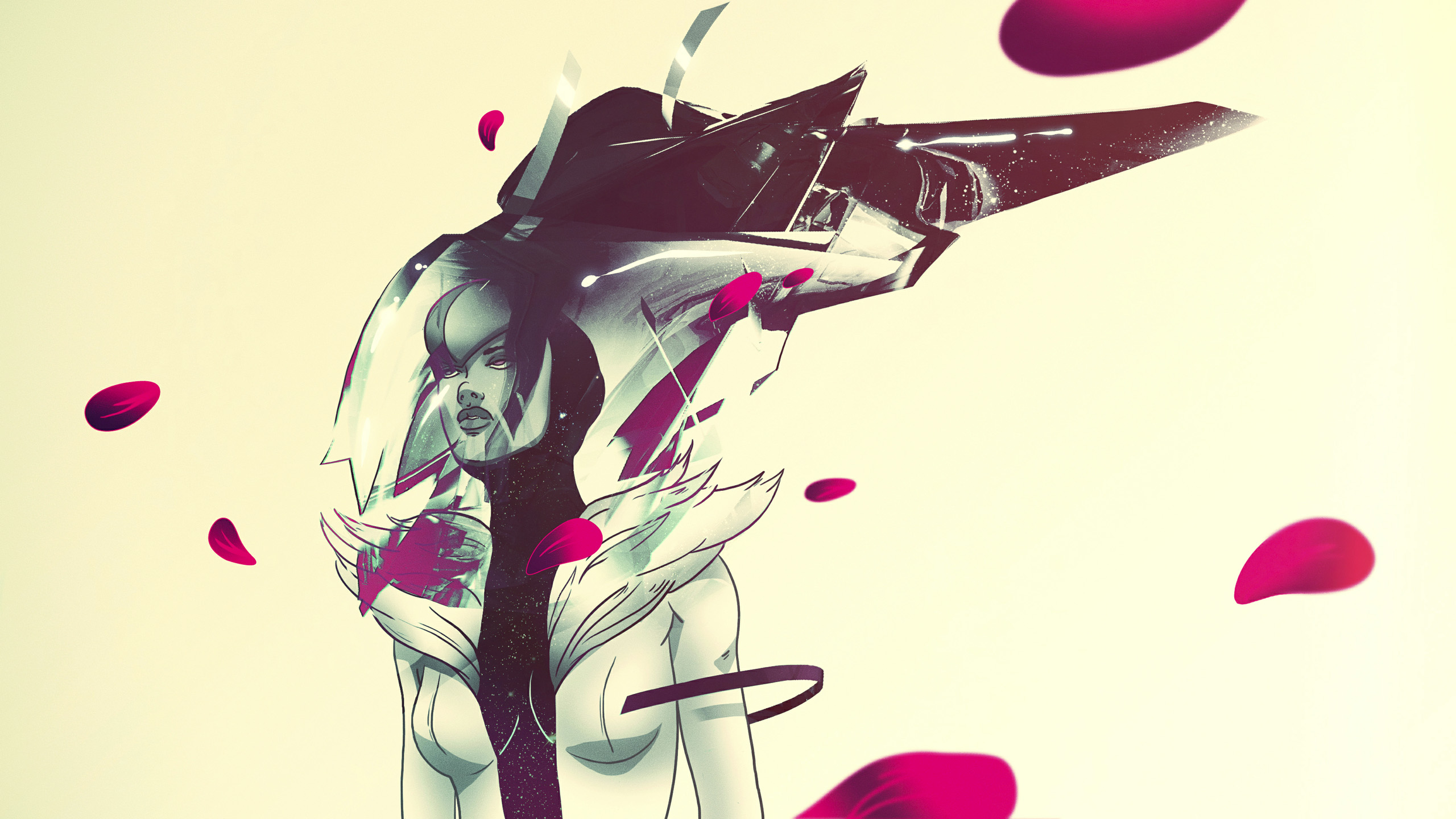 Le illustrazioni Sci-Fi di Andrés Rivera aka Raccoon Nook