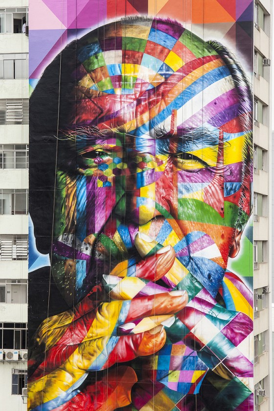 Eduardo Kobra - Street artist brasiliano