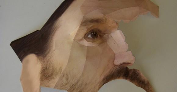Bert Simons - Papersculptures - Ritratti di carta 3D