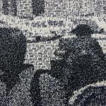 Federico Pietrella – Dipinti realizzati con con un timbro