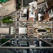 Navid Baraty - Intersection - Fotografie aeree di New York e Tokyo