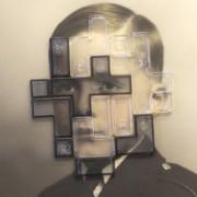 Julie Cockburn - Fotografa londinese che trasforma i ritratti in collage caleidoscopici