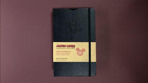 Svperbe per Moleskine Limited Edition Disney - Video illustrazioni in Stop Motion