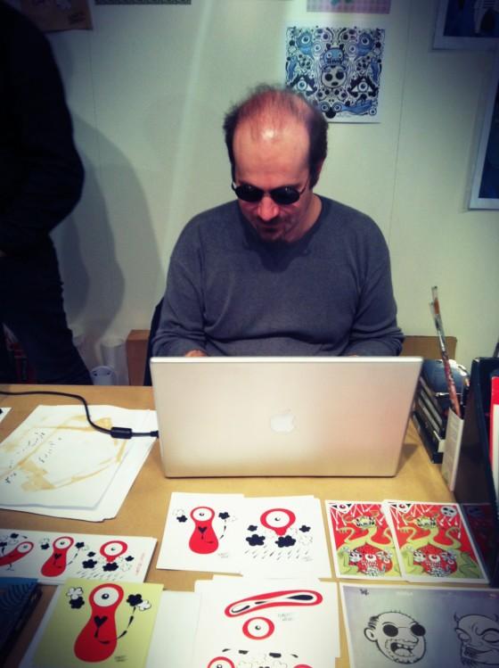 Collater.al meets QU4TTRO - Alberto Corradi - Intervista all'artista, scrittore e fumettista italiano