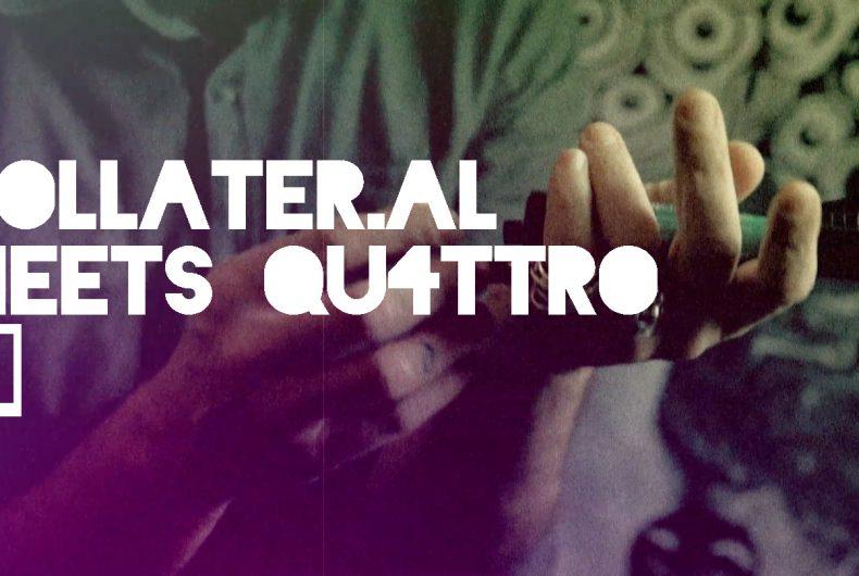Collater.al meets QU4TTRO – David Diavù Vecchiato