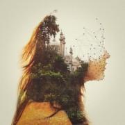 Dan Mountford - Double Exposure - Ritratti e paesaggi realizzati con la doppia esposizione fotografica