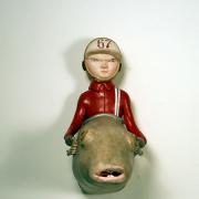 Cassie e Ernie Velasco aka Doubleparlour - Sculture e personaggi in resina policroma