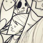Collater.al meets QU4TTRO – Ale Giorgini, illustratore e fumettista italiano