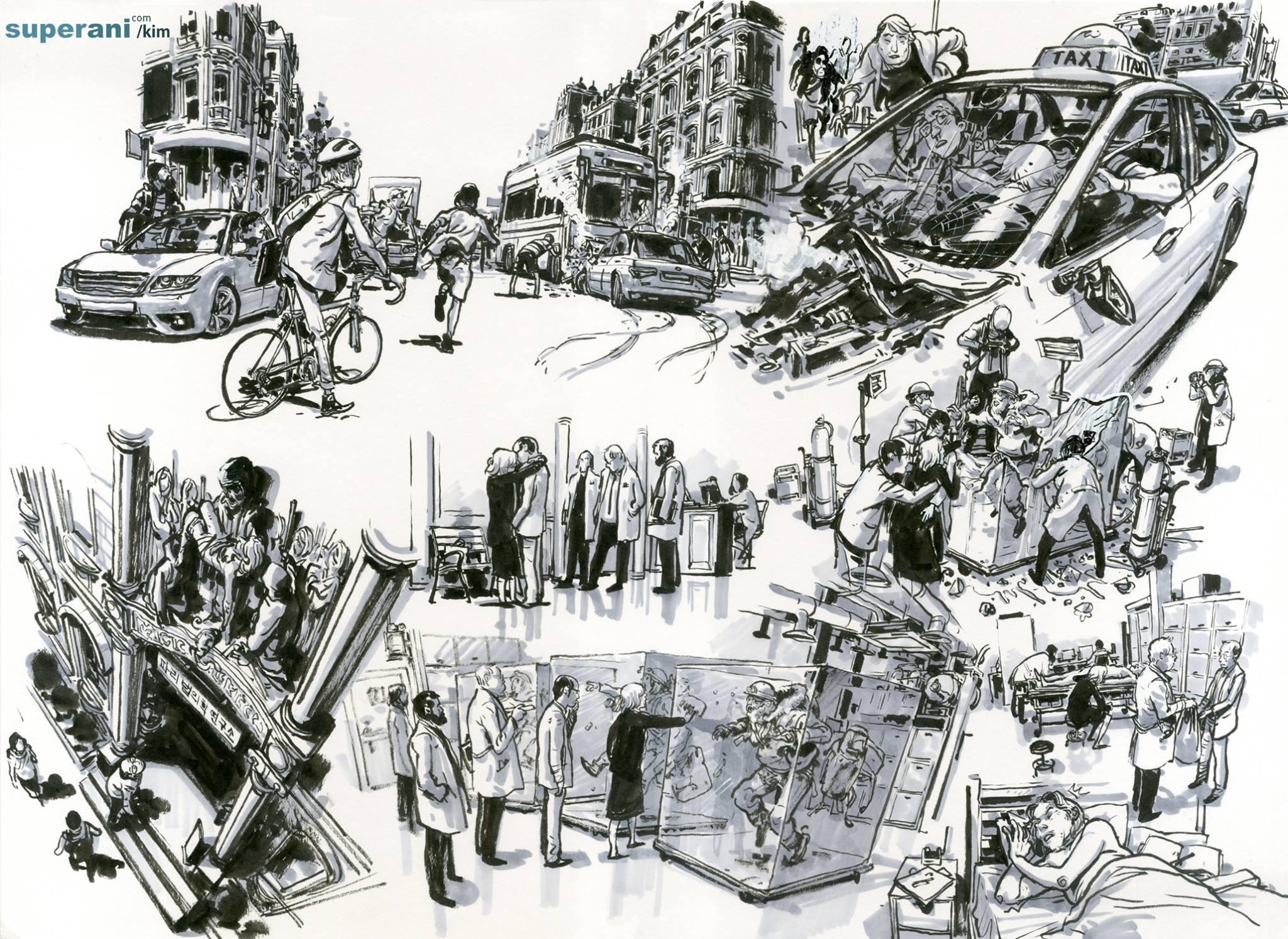Kim Jung Gi - Illustratore e comic book artist coreano | Collater.al