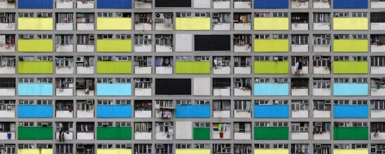 Michael Wolf - Architecture of Density - Fotografie sulla densità architettonica di Hong Kong