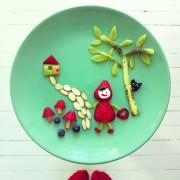 Ida Skivenes - Creative Food Art - Creazione realizzate utilizzando il cibo