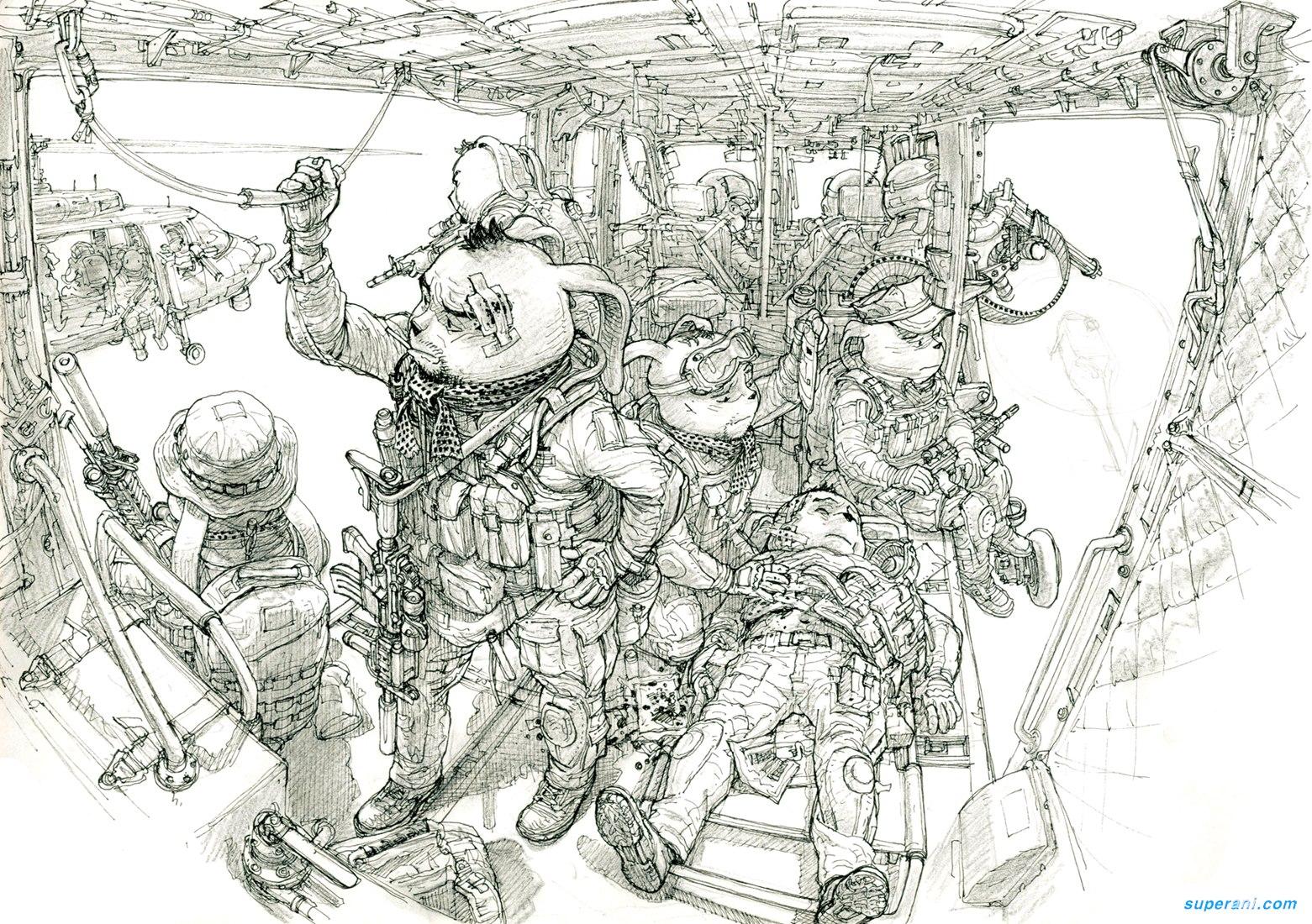 Kim Jung Gi - Illustratore e comic book artist coreano