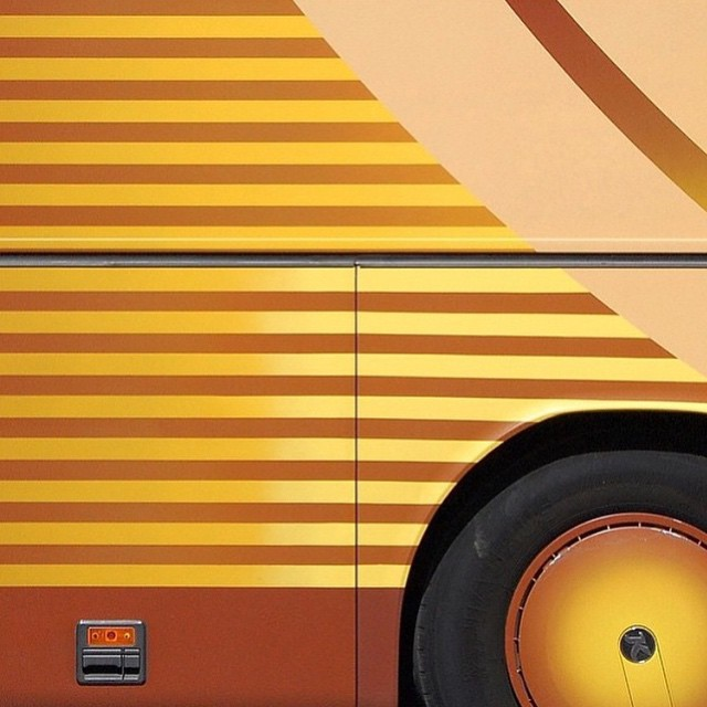 { on blog } The colorful project @euro_bus of @taylorholland_…