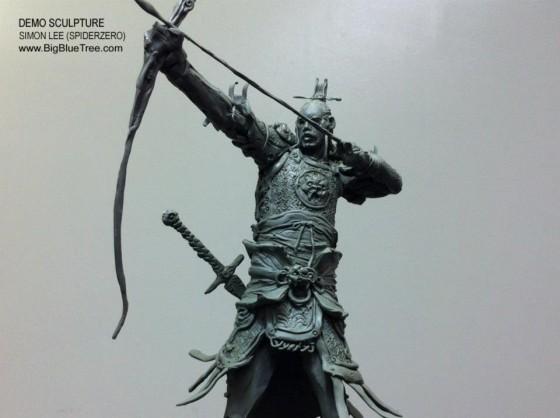 Simon Lee aka Spiderzero - Concept designer e scultore