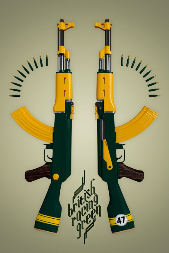 Twelve for haus - AK47 - Poster in serie limitata | Collater.al