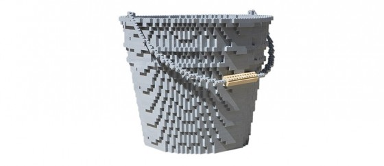 Nathan Sawaya e Dean West - In Pieces - Serie fotografica con elementi in LEGO