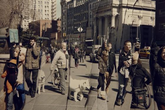 John Clang - Time - Collage fotografici sul trascorrere del tempo