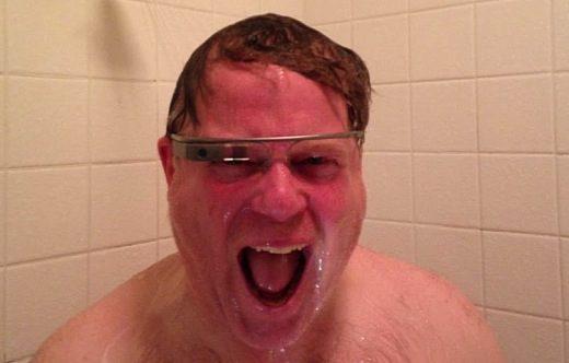 "La Bara #5 – ""Whiteman wearing Google Glass"""