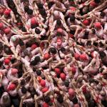 Castells – Spettacolari foto delle torri umane di Tarragona