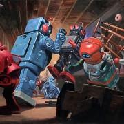 Eric Joyner - L'artista che ama dipingere robot e donut