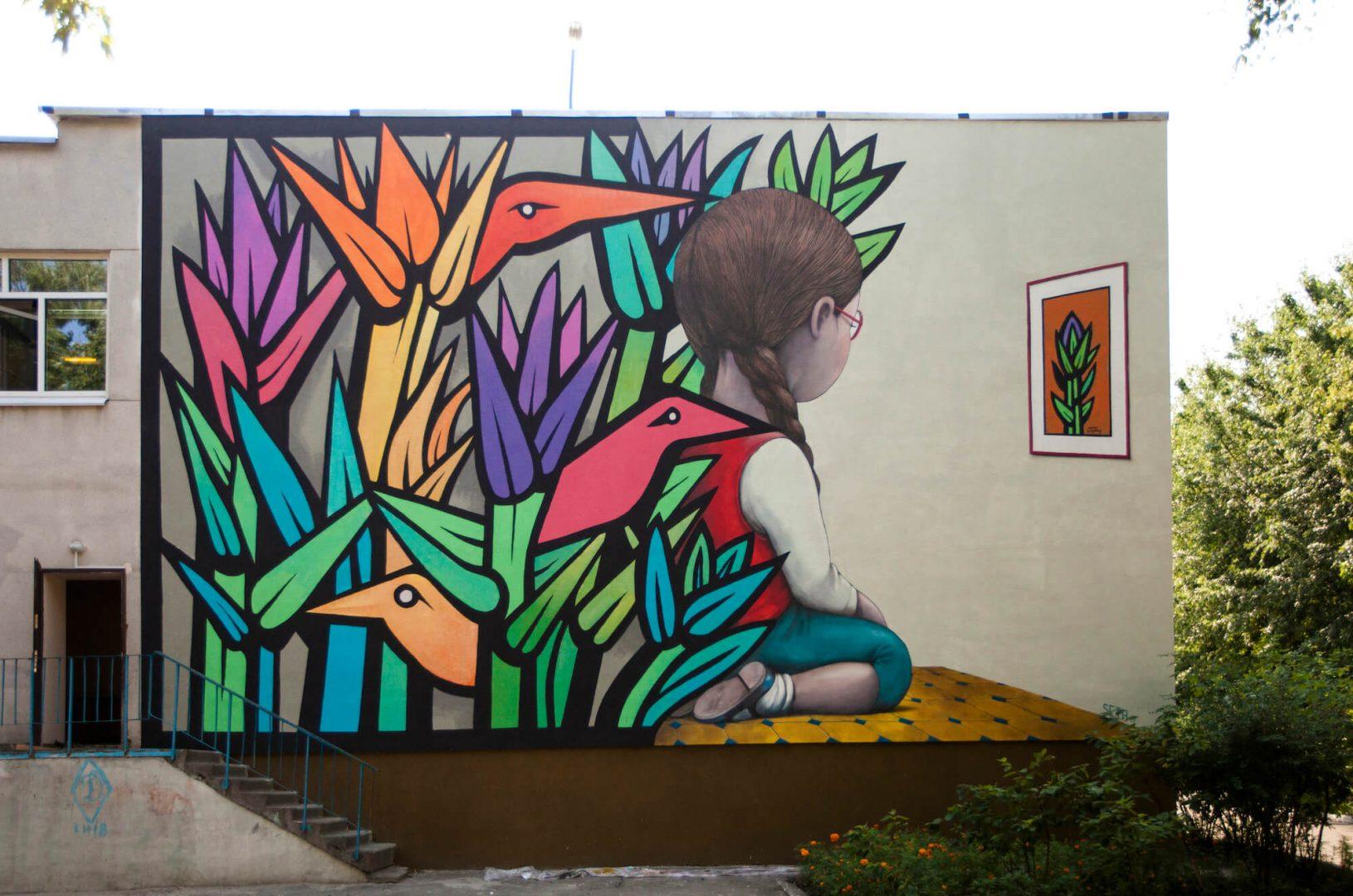 Le diversità sociali nella street art di Julien Malland aka Seth | Collater.al