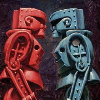 Eric Joyner - Rock'em Sock'em Robots | Collater.al