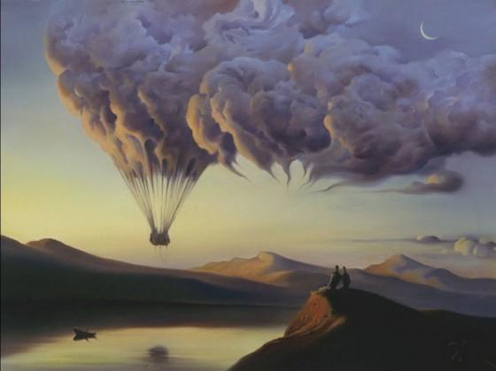 Vladimir Kush - Realismo Metaforico
