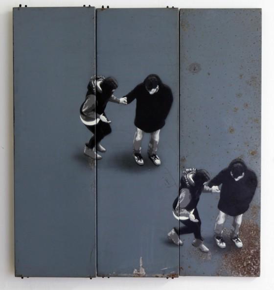 Anders Gjennestad - Strøk - Stencil artist norvegese