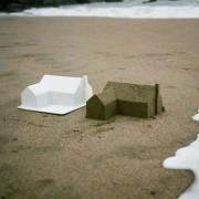 Chad Wright - Master Plan - Installazione di sabbia sulla fine del sogno americano