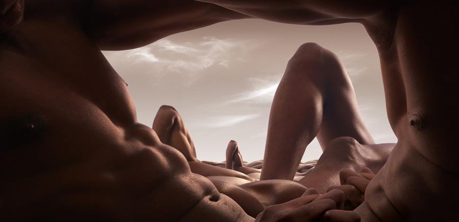 Bodyscapes - Corpi umani diventano paesaggi