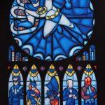 Superhero Stained glass – Finte vetrate raffiguranti supereroi vecchio