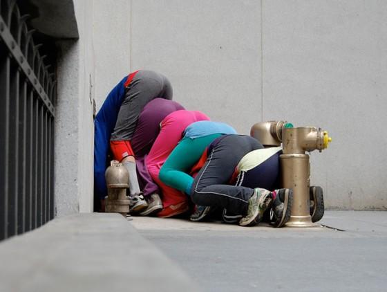 Will Dorner + CIE - Composizioni umane occupano spazi urbani