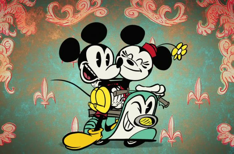 Mickey Mouse – Croissant de Triomphe