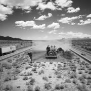 Jackson Patterson - Recollected Memories - Foto di paesaggi fuse con vecchie foto di famiglia