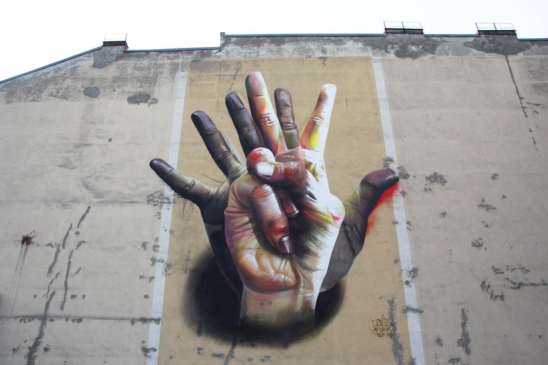 La street art di Case, fondatore della Ma'Claim Crew | Collater.al